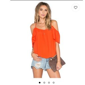Lovers + Friends Ariel off shoulder top
